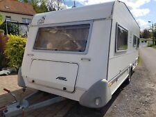 Wohnwagen Knaus Azur 550 mit 100er Zulassung