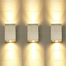 Brandneu 6W LED Wandlampe Warmweiß Modern Led Wandleuchte Flurlampe Wandstrahler