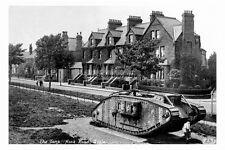 pt2231 - WWI Tank , Hook Road , Goole , Yorkshire - photograph 6x4