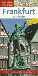 Frankfurt / M Reiseführer mit großem Stadtplan 2017/18 NEU + UNGELESEN 96 Seiten
