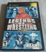 Legends of Wrestling Xbox