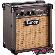 Laney LA Series Acoustic Guitar Amplifier - 10 Watts with AUX in Headphone Out