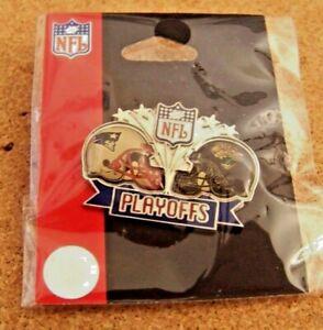 2008 NFL Playoffs pin NE New England Patriots vs Jacksonville Jaguars SB 42 XLII