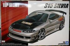 1999 Nissan Silvia S 15 / PS15  Top Secret JDM 1:24 Aoshima 058749