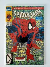 Spider-Man #1 Classic Cover Signed by Stan Lee with COA 1990 Torment