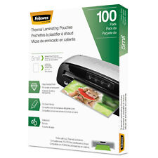 Fellowes Laminating Pouches Letter Size Hot Pouch 9 x 11.5 5 mil 100 pack