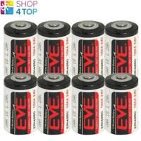8 EVE ER14250 1/2AA 3.6V LITHIUM BATTERIEN ENERGY VERY ENDURE BOBBIN CELL SIZE