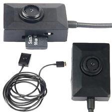 Mini Espía Chaqueta/Camisa Botón Cámara DVR Video/grabador de sonido con USB cable de alimentación