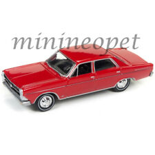 JOHNNY LIGHTNING JLCG007 A 1966 FORD FAIRLANE 500 SEDAN 1/64 SIGNAL FLARE RED