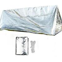 Emergency Shelter Tent Outdoor Ultralight Portable Camping SOS Shelter Tent 6L