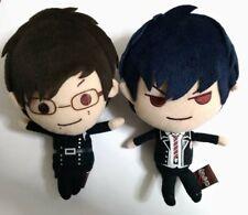 Blue Exorcist Plush Doll Mini Mascot x2 Rin Yukio Okumura Brothers Anime F/S