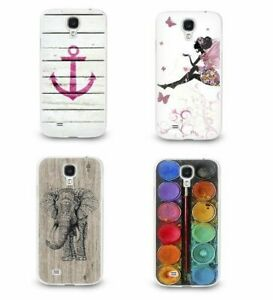 Hülle für Samsung Schutz Handy Cover Case Tasche Motiv Bumper Motiv