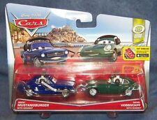 CARS 2 - BRENT MUSTANGBURGER HEADSET & DAVID HOBBSCAPP HEA - Mattel Disney Pixar