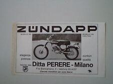 advertising Pubblicità 1976 MOTO ZUNDAPP GS 125