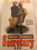 My Dear Secretary  NEW VHS  Kirk Douglas  Laraine Day  Keenan Wynn  Rudy Vallee