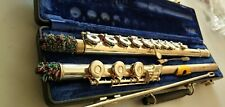 Open Hole Gold Plated flute