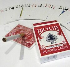 FLOATING CIGARETTE PLUS FULL PACK STRIPPER MARKED DECK PLAYING CARDS MAGIC TRICK