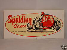 SPALDING CAMS STICKER DECAL SPEED SHOP TOOLBOX PALMINI