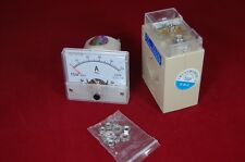 AC 100A Analog Ammeter Panel AMP Current Meter 85L1 AC 56*64mm with transformer