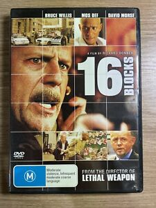 16 Blocks - DVD - Free Postage !!
