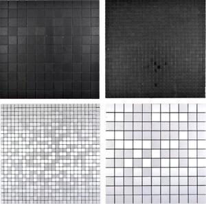 Selbstklebende Mosaikfliesen Mosaikplatten Spritzschutz Küchenwand Verkleidung
