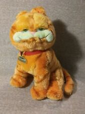 "Ty Plush Garfield, Stuffed Toy, 9-10"", Name Tag, Super Soft"