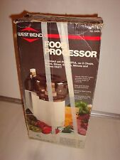 Vintage Westbend Food Processor Model 6490 New Other