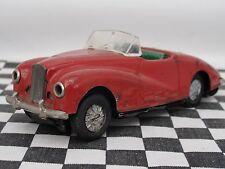 Startex Sunbeam Alpine década de 1950 Hojalata Fricción Drive Coche Rojo-Usado Sin Caja