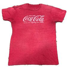 Coca-Cola T-Shirt Short Sleeve Heather Red Medium