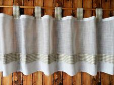 Gardinen & Vorhänge mit Schlaufenaufhängung im Landhaus-Stil aus 100% Baumwolle