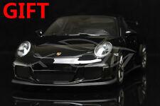 Car Model Minichamps Porsche 911 GT3 2013 1:18 (Black Metallic) + SMALL GIFT!!!!