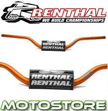 RENTHAL FATBAR HANDLEBARS ORANGE FITS KTM 690 ENDURO R 2012-2016 BAR PAD