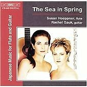 Sea in Spring, The - Japanese Music for Flute and Guitar CD NEW