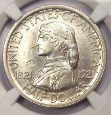 1921 Missouri 2X4 Half Dollar 50C Coin - NGC Uncirculated Details (UNC MS BU)!