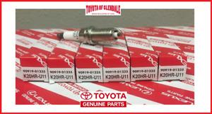 TOYOTA TACOMA, 4RUNNER, FJ CRUISER SPARK PLUGS SET OF 6 GENUINE OEM 90919-01235