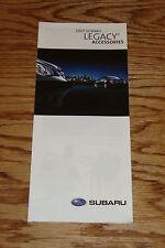 Original 2007 Subaru Legacy Accessories Foldout Sales Brochure 07
