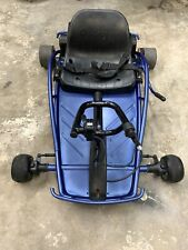 Razor Ground Force 24V Rechargeable Electric Go Kart, up to 12 Mph, Custom Blue