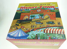 MECHANICAL WIND UP TOY MERRY TOWN HAHA TOY COLLECTORS CLOCKWORK TIN TOY