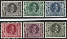 1943 Deutsches Reich ** postfrisch MiNr. 844-849 54. Geburtstag Adolf Hitler