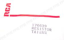 176639 Original Resistor By RCA