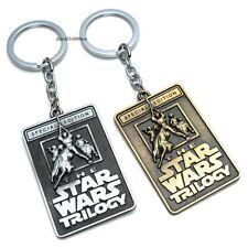 Star Wars The Trilogy Movie Logo Diecast Metal Keyrings/Pendant