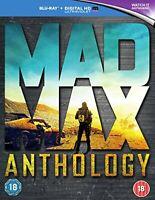 Mad Max Anthology [Blu-ray] [2015] [Region Free] [DVD][Region 2]