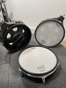 "1X Roland V-drum PD-125BK 12"" Dual Trigger Mesh Electronic Drum Pad"