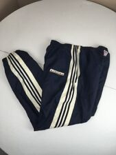 Vtg 90s Adidas 3 Stripe Nfl La Chargers Navy Blue/White Lined Track Pants Xl