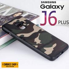 Cover Custodia Samsung GALAXY J6 PLUS MIMETICA Militare Morbida Silicone Tpu