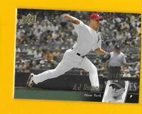32602 A.J. BURNETT 2010 UPPER DECK #353 NEW YORK YANKEES GOLD CARD #04/99 $15 ⚾️