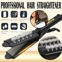Professional Glider Hair Straightener Steam Ceramic Tourmaline Ionic Flat Iron