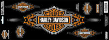 Harley Davidson B&S With Pin Stripes (XXXL)  HARLEY DECAL