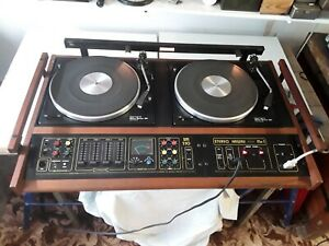 Citronic Hawaii Stereo Mk3 Vintage Disco DJ Double Deck Console.