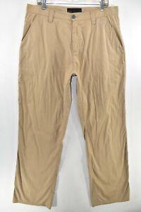 Oakley Take Pant 2.0 Mens Golf Stretch Pants Size 36 Khaki Meas. 36x33.5 Tan